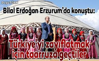 """""""Türkiye'yi zayıflatmak için taarruza geçtiler"""""""