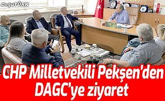 CHP Milletvekili Pekşen'den DAGC'ye ziyaret