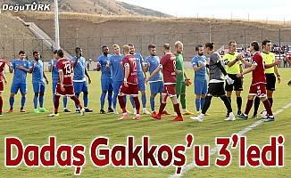 Dadaş Gakkoş'u 3'ledi