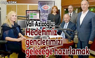 Vali Azizoğlu: Bizim tek hedefimiz gençlerimizi geleceğe hazırlamak