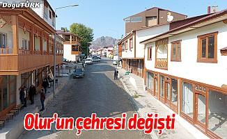 Büyükşehir Olur'un çehresini değiştirdi