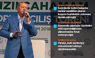 Cumhurbaşkanı Erdoğan'dan yerel seçim açıklaması