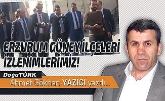 ERZURUM GÜNEY İLÇELERİ İZLENİMLERİMİZ!