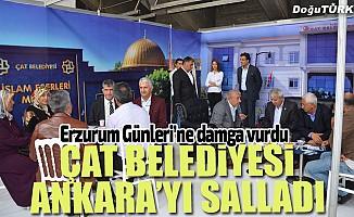 Erzurum Günlerinde Çat rüzgarı