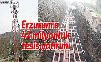 Erzurum'a 42 milyonluk tesis yatırımı