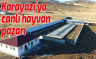 Karayazı'ya Canlı Hayvan Pazarı