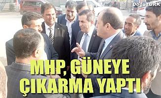 MHP güneye çıkarma yaptı
