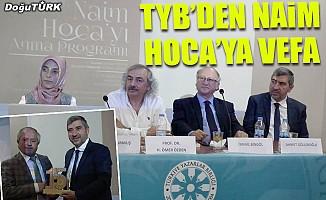 TYB Erzurum Şubesi Naim Hoca'yı anma paneli düzenledi