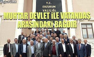 Vali Azizoğlu: Muhtar devlet ile vatandaş arasındaki bağdır