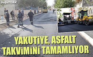 Yakutiye, asfalt takvimini tamamlıyor