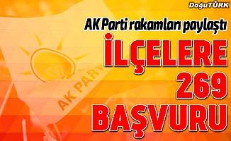 AK Parti Erzurum'a 269 başvuru
