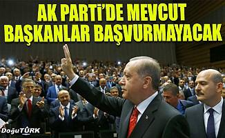 AK Parti'li 800 başkan başvuru yapmayacak