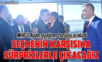 Aydın: Erzurum'a üç hilali asacağız