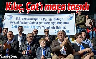 Başkan Kılıç, BB Erzurumspor maçını hemşehrileriyle izledi