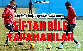"""Büyükşehir Belediye Erzurumspor'un """"golsüz"""" forvetleri"""