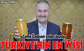 Cemil Özdemir: Türkiye'nin en iyi balı Erzurum'da
