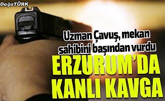 Erzurum'da silahlı kavga: 1 yaralı