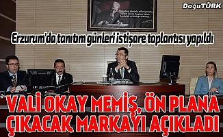 Erzurum'da tanıtım günleri istişare toplantısı yapıldı