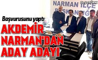 Münir Akdemir, Narman Belediye Başkanı aday adayı