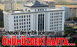 Özhaseki: AK Parti'de adaylar önümüzdeki hafta açıklanabilir