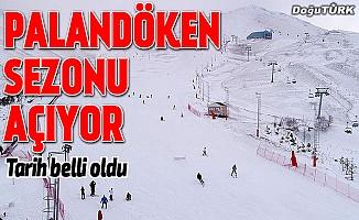 Palandöken'de kayak heyecanı başlıyor