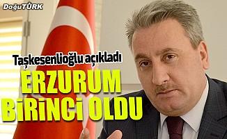 Türkiye'nin sporda en esnek kenti Erzurum oldu