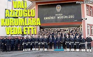 Vali Azizoğlu veda ziyaretlerini sürdürüyor