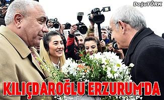 CHP Genel Başkanı Kılıçdaroğlu, Erzurum'da
