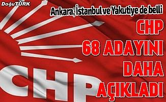 CHP'nin Ankara ve İstanbul adayları belli oldu