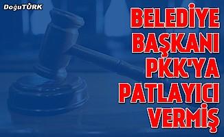 DBP'li eski belediye başkanı PKK'ya patlayıcı vermiş