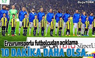 Erhan Çelenk: Fenerbahçe'yle aynı puandayız