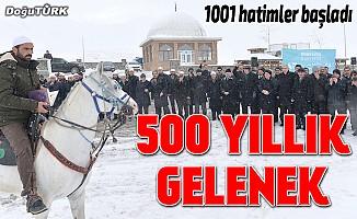 """Erzurum'da """"1001 Hatim"""" okunmasına başlandı"""