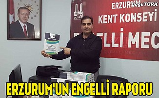 Erzurum'da engellilerle ilgili araştırma kitaplaştırıldı