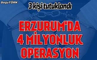 Erzurum'da yolsuzlukla suçlanan 3 mutemede tutuklama