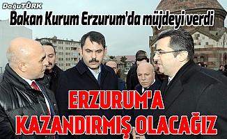 Erzurum Kalesi'nin çevre düzenlemesi projesini yapacağız