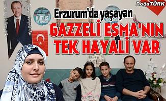 Gazzeli Esma'nın en büyük hayali...