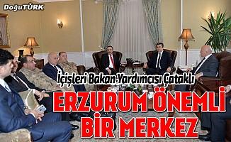 İçişleri Bakan Yardımcısı Çataklı Erzurum'da