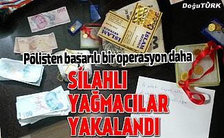 Kar maskesi takıp ailesinin para ve ziynet eşyasını gasbetti