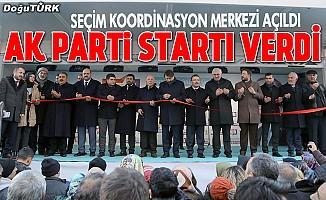 AK Parti Erzurum Seçim Koordinasyon Merkezi açıldı