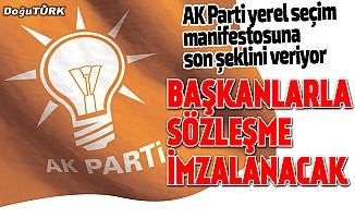 AK Parti yerel seçim manifestosuna son şeklini veriyor: Birlikte yöneteceğiz