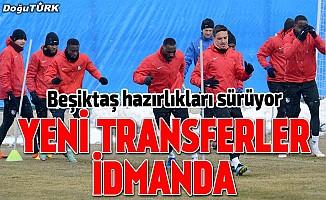 BB Erzurumspor'da Beşiktaş maçı hazırlıkları sürüyor