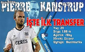 BB Erzurumspor'dan ilk transfer geldi