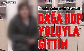 """Dağa HDP yoluyla gittim"""
