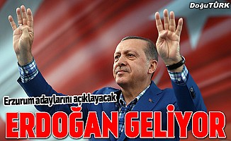 Erdoğan 25 Ocak'ta Erzurum'da