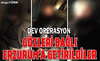 Erzurum'da ele geçirilen 1 ton 535 kilogram eroine ilişkin 4 gözaltı