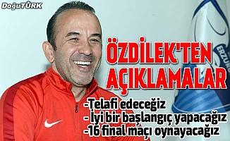 Erzurumspor'da gözler Beşiktaş maçına çevrildi