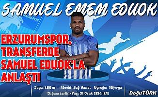 Erzurumspor, transferde Samuel Eduok'la anlaştı