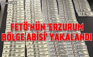 """FETÖ'nün """"Erzurum bölge abisi"""" yakalandı"""