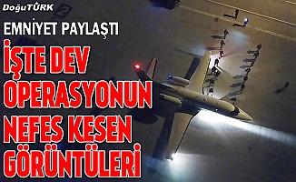 İşte Erzurum'daki dev uyuşturucu operasyonunun görüntüleri