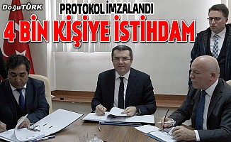 """""""Tekstilkent"""" ile Erzurum'da 4 bin kişiyle istihdam"""